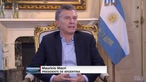 Presidente de Argentina denunciará a Nicolás Maduro ante la Corte Penal Internacional