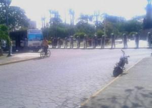 Piquete de la PNB impide marcha intergremial en Lara #16Ago (fotos)