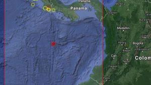 Sismo de magnitud de 5,1 sacude el sur de Panamá #14Ago