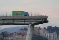 La historia del camionero que se detuvo justo a tiempo cuando colapsó el puente Morandi en Génova