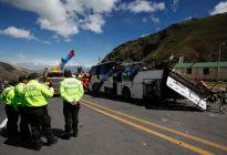 Consulado de Colombia en Quito contacta a familiares de víctimas del accidente