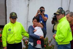 Mujer raptó a bebé de seis meses para decirle a exnovio que era su hija
