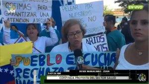 Desde Zulia, el sector salud apoya concentración hasta Miraflores #16Ago