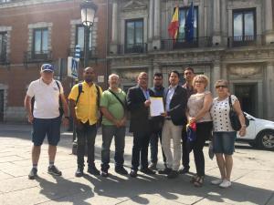 Diputado Ramón López entrega a canciller de España carta sobre secuestro de Juan Requesens y persecución a Julio Borges