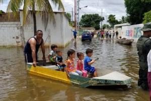 Al menos 1.500 familias afectadas por las fuertes lluvias e inundaciones en el estado Amazonas