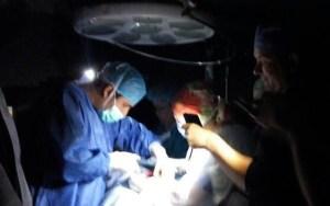 Médicos hacen milagros en Zulia cuando no hay electricidad