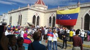 Merideños realizaron una procesión por la libertad de Venezuela este #18Ago (fotos)