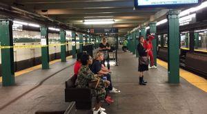 El metro de Nueva York registra temperaturas de hasta 40 grados en sus plataformas