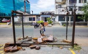 Paradas de autobuses en Ciudad Guayana: Otro reflejo de la desidia gubernamental (fotos)