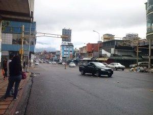 10:30 am Paro nacional ha sido acatado en 60%, asegura Andrés Velásquez