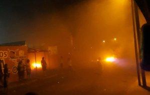 Zulianos salieron a las calles a protestar tras 80 horas sin luz