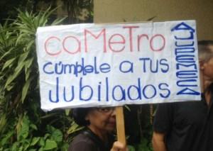 Empleados del Metro de Caracas protestan por mejoras salariales #9Ago (fotos y video)
