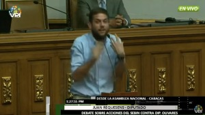 El contundente discurso del diputado Requesens en la AN que activó el odio del poder (video)