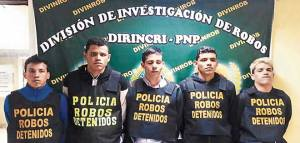 Identifícalos: Los integrantes del Tren de Aragua detenidos en Perú (FOTOS)