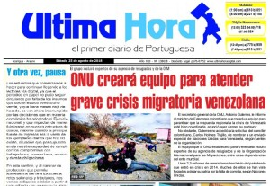 Vente Joven Portuguesa ante cierre de Última Hora: Régimen intenta callar medios que no se doblegan