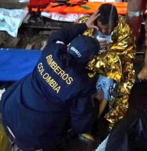Rescatan a cuatro trabajadores atrapados en una mina de Colombia