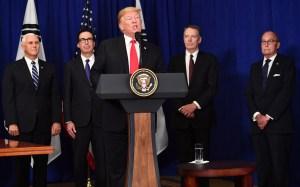 EEUU dice que pretende firmar un nuevo tratado del TLCAN con México y sin Canadá