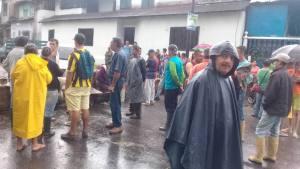 En Táchira bloquean carretera Troncal 5 por falta de gas #6Sep