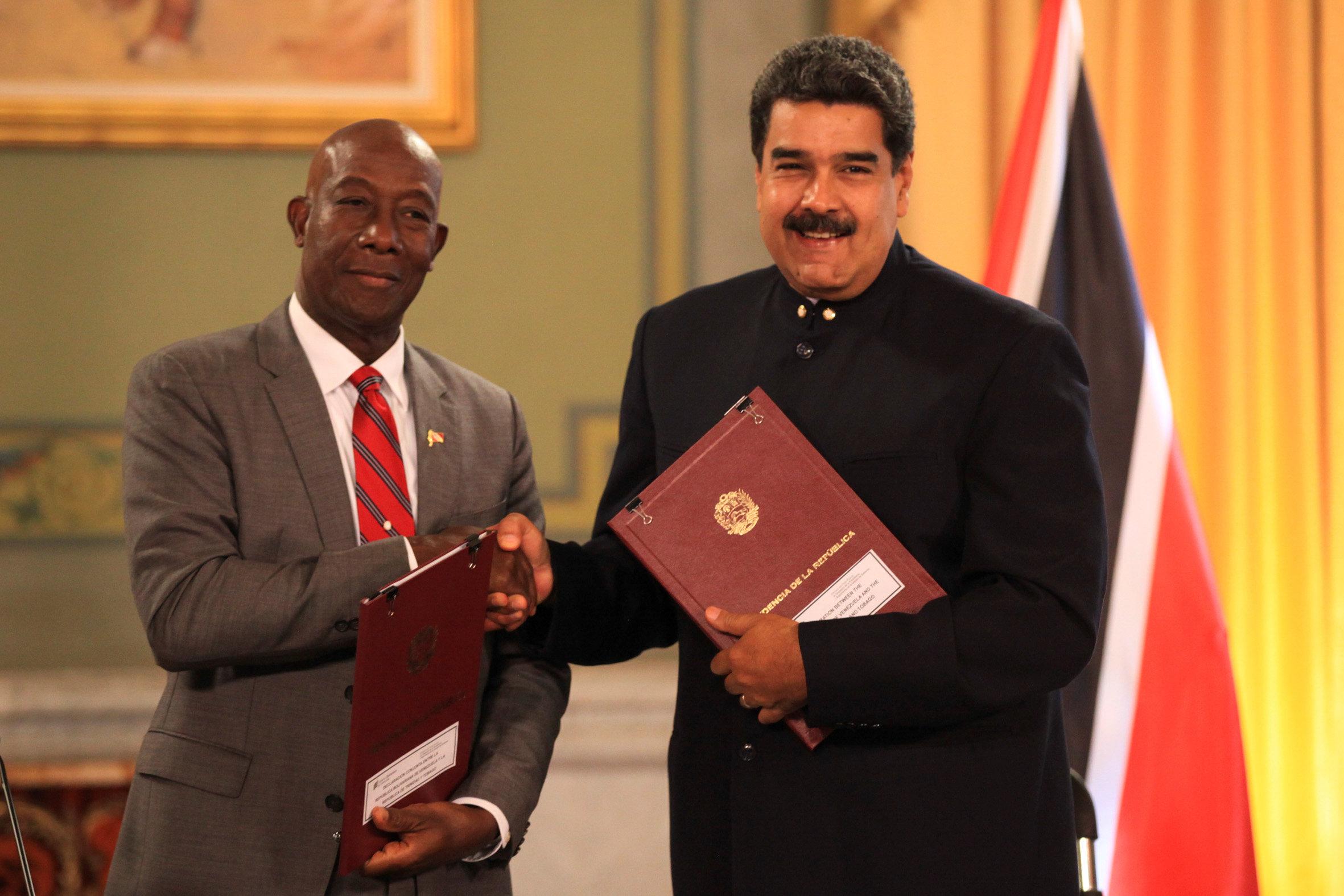 Se voltean los socios de Maduro: Trinidad y Tobago respalda a Guyana en controversia fronteriza con Venezuela
