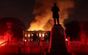 Unesco afirma que la restauración de museo incendiado en Rio de Janeiro llevará 10 años