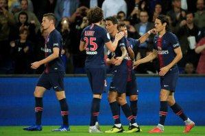 El PSG golea al Saint Etienne sin dos de sus figuras en el ataque