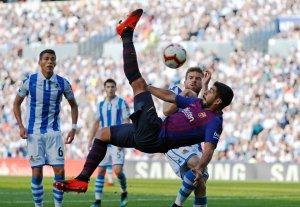 Victoria sufrida: El Barça tuvo que remontar a una Real Sociedad imprecisa