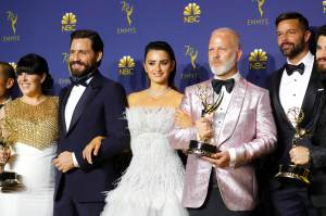 Penélope Cruz, Edgar Ramírez y Ricky Martin se quedaron sin Emmy