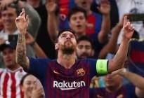 Otro récord para la casa: Messi, el jugador con más hat-tricks en la historia de la Champions League