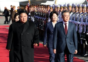 Kim y Moon subrayan el acercamiento y su importancia en el diálogo con EEUU