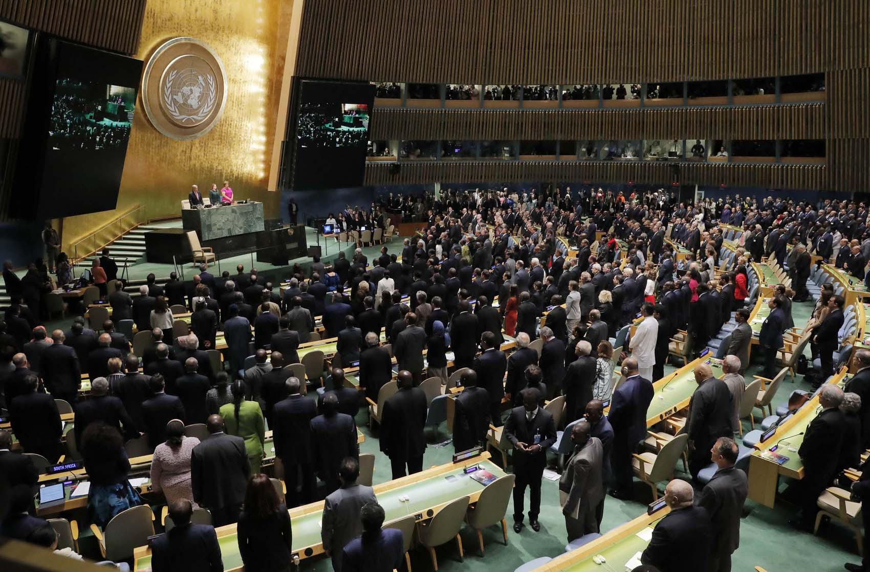 Comienza la Asamblea General de la ONU en Nueva York