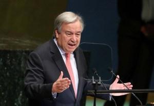 António Guterres deplora un orden mundial caótico al inaugurar la Asamblea General de la ONU