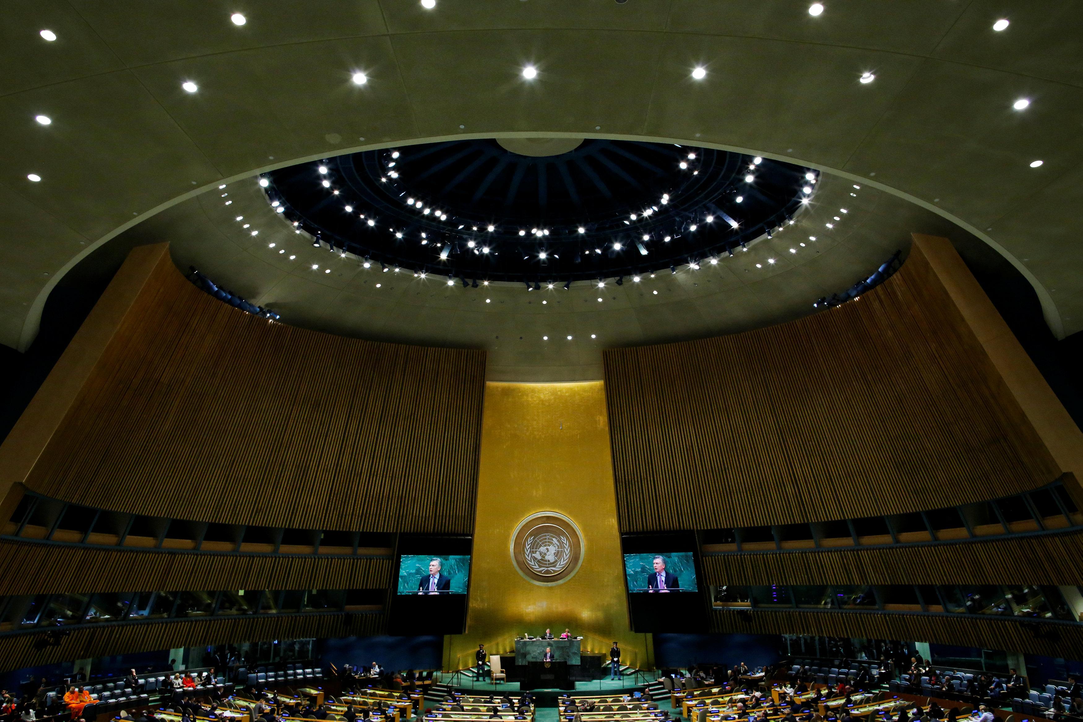 La crisis de Venezuela, uno de los temas más abordados por los líderes internacionales en la Asamblea General de la ONU