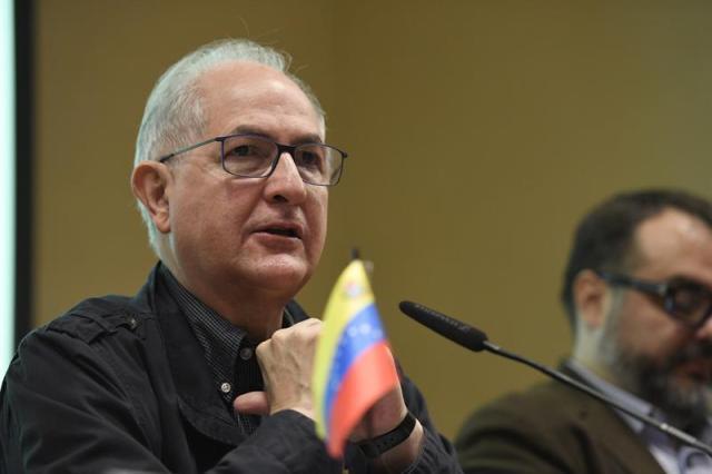 Antonio Ledezma se dirige a la opinión pública