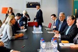 Canciller colombiano aborda con la Unión Europea los riesgos de la crisis de Venezuela en la región