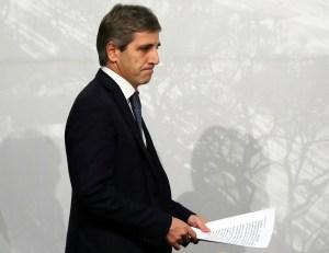 Renuncia el presidente del Banco Central argentino, Luis Caputo