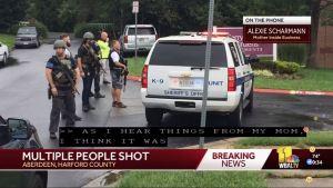 "Tiroteo en Maryland deja ""múltiples víctimas"""