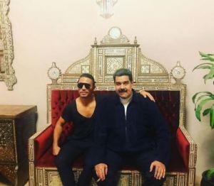 Indignación en redes sociales por visita de Maduro al restaurante de Salt Bae
