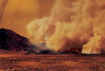 Titán tiene gigantescas tormentas de polvo, según observaciones de Cassini