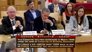 Ledezma en Senado de Canadá: No queremos Resolución de pésame, sino intervención humanitaria ya