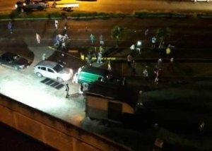 GNB arremetió contra conductores en gasolineras del Táchira (video)