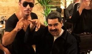 """Esto fue lo que dijo Maduro sobre su """"banquete"""" en el restaurante de Salt Bae (Video)"""