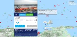 El buque tanquero del accidente en el muelle zarpó de Jose y va rumbo a Gibraltar ¿Quién paga los daños?