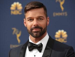 Ricky Martin dice en los premios Emmys que su rol en la serie sobre Versace es un sueño hecho realidad