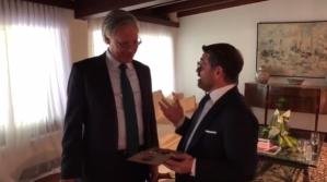 Lacava se reunió con embajador de Reino Unido en Venezuela este #18Sep (Video)