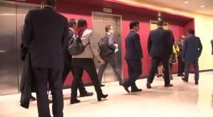 Servicio secreto rebotó a Jorge Arreaza cuando intentó colearse a la reunión Duque-Trump (Video)