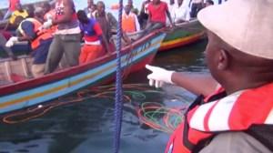 Saldo de naufragio en Tanzania llega a 218 muertos, hallan a un superviviente