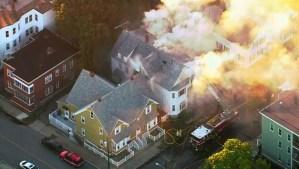 Decenas de explosiones de gas dejan múltiples heridos cerca de Boston (Video)