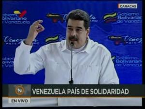 Maduro tilda de cobarde al gobierno de Estados Unidos por sancionar a su esposa