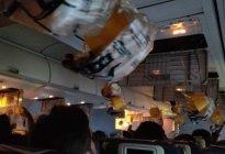 Decenas de pasajeros sangran por los oídos y nariz luego que olvidarán presurizar la cabina (video)