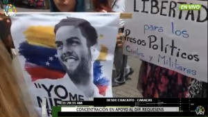 Realizaron un caminata para exigir la libertad de Juan Requesens #22Sep (video)